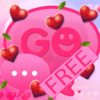 Valentine Heart for GO SMS Pro For PC (Windows And Mac)