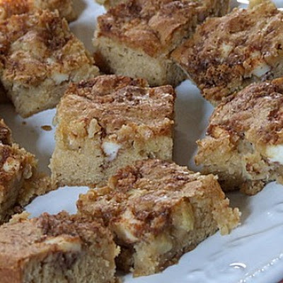 Apple Harvest Blondies