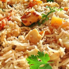 Paneer Pulao (cottage Cheese)