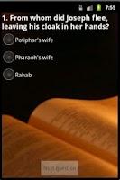 Screenshot of Bible Quest