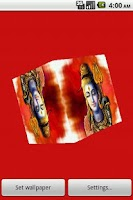 Screenshot of God Shiva Cube Live Wall Paper