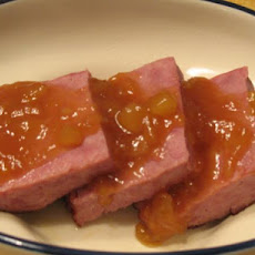 Ham With Pineapple Sauce