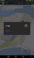 Screenshot of Location Alarm
