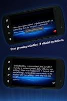 Screenshot of Atheist Quotes
