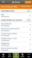 Screenshot of Shopping List from Recipe.com