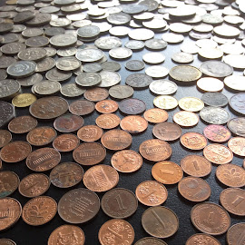 1cents.... by Mary Yeo - Artistic Objects Other Objects (  )
