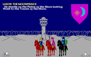 Screenshot of The Lords of Midnight