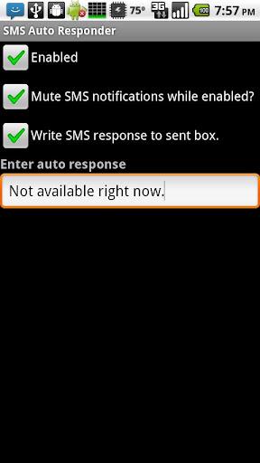 【免費通訊App】SMS Auto Responder-APP點子