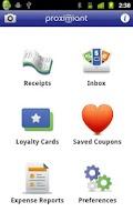 Screenshot of Digital Receipts