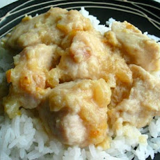 Crock Pot Citrus Ginger Chicken