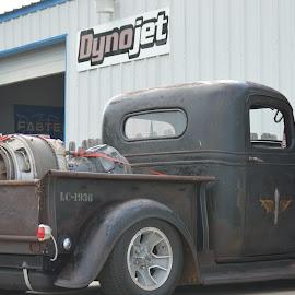 Turbine Engine Truck by Kevin Dietze - Transportation Automobiles