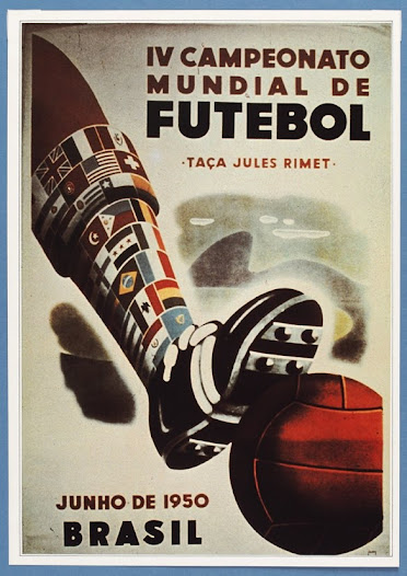 """""""The 1950 World Cup in Brazil was meant to be a demonstration of the modernisation of Brazil..."""" David Goldblatt, Football Writer"""