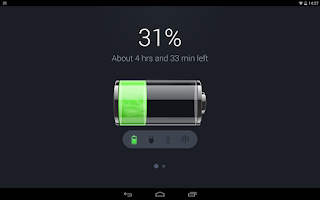 Screenshot of Battery