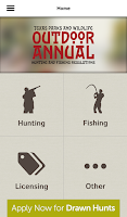 Screenshot of Texas Outdoor Annual