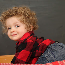 Curls by Anthony Goldman - Babies & Children Child Portraits ( infant, curls, chicago, baby, portrait,  )