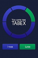 Screenshot of Tabex – quit smoking