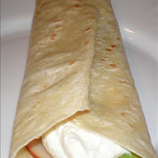 Smoked Turkey Tortilla Wraps - Mexican