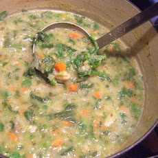 Cannelini and Broccoli Rabe Soup