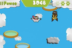 Screenshot of Stunt Cat!
