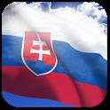 3D Slovakia Flag + icon