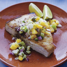 Swordfish with Pineapple Relish