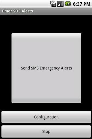 Emergency SOS Alerts