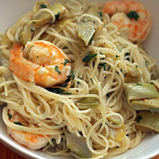 Shrimp and Artichoke Pasta Recipe | Yummly