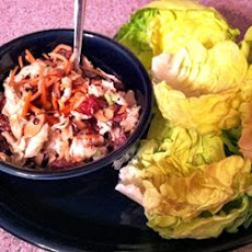Cherry Chicken Lettuce Wraps