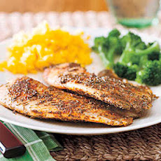 Cajun Blackened Tilapia