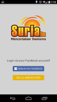 Screenshot of Suria FM