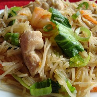 Pork and Shrimp Pancit