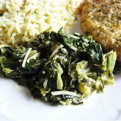 Sautéed Swiss Chard with Parmesan