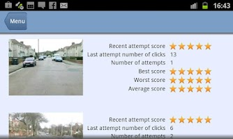 Screenshot of Hazard Perception Pro