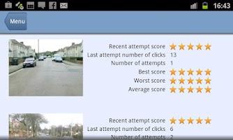 Screenshot of Hazard Perception Pro