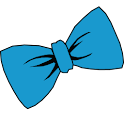 Bowtie Blue GO Launcher Theme icon