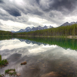 Lake Herbert by Matt Bryant - Landscapes Mountains & Hills ( canada, jasper, banff, yoho )