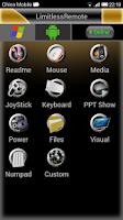 Screenshot of Limitless Remote
