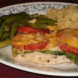 Pork Chops with Tomatoes and String Beans