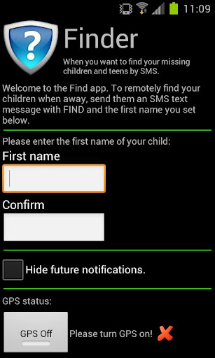 Parental Control Phone Finder