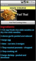 Screenshot of Thai Food Recipes
