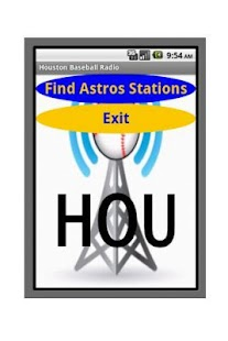 Houston Baseball Radio - screenshot