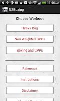 Screenshot of New School Boxing