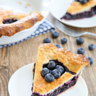 Cook's Illustrated Best Blueberry Pie