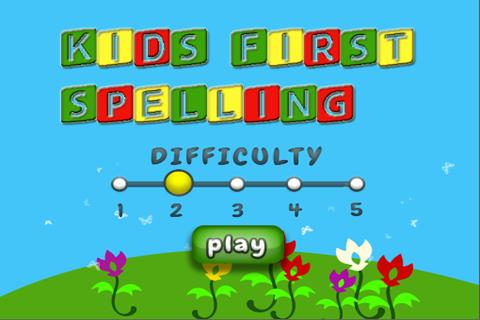 Kids First Spelling