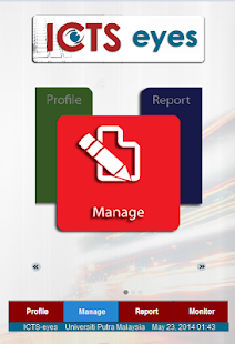 Mobile Reporting System - screenshot