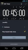 Screenshot of Timer+ : countdown timer