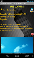 Screenshot of Brújula Traveler Compass Lite
