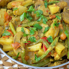 Vegetable Korma - Vegan Indian Side Dish
