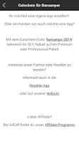 Screenshot of Barcamps Deutschland