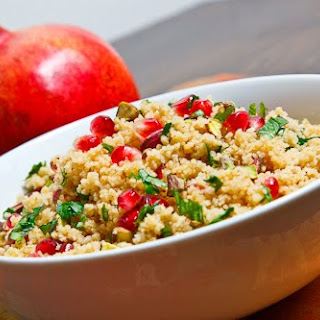 Couscous With Pomegranate Syrup Recipes